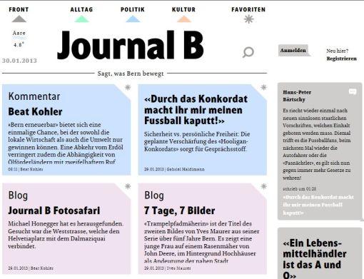Bild Journal B
