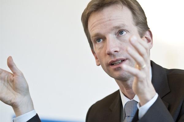 Alexandre Schmidt, Finanzdirektor Stadt Bern. © Adrian Moser